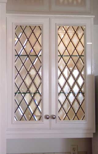 View Our Gallery of Cabinet Doors From Stained Glass Woodland Hills and Silva Glassworks